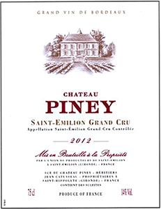 Chateau Piney Saint-Emilion Grand Cru